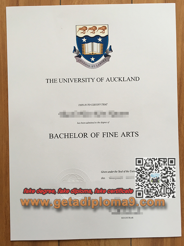 University of Auckland fake degree